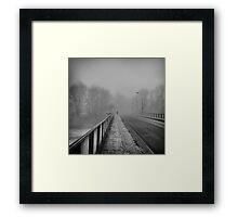 cold Framed Print
