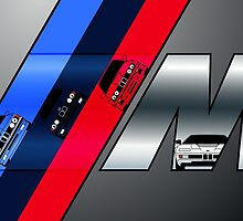 BMW M Cars by AutomotiveArt