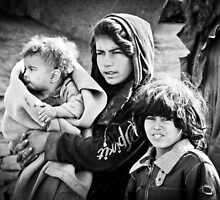 Afghan Refugee Girl by David R. Anderson