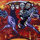 '4 HORSEMEN (1 HORSE)'  by Jerry Kirk