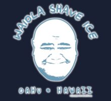 Hawaii 5-0 Waiola Shave Ice Logo (Sky + Halo) by Sharknose