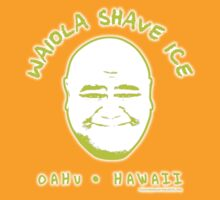 Hawaii 5-0 Waiola Shave Ice Logo (Lime + Halo) by Sharknose