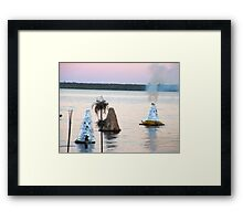Kiln Ceremony Framed Print