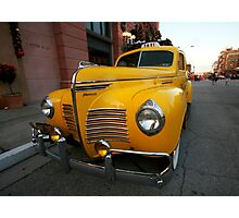 Vintage Taxi Photographic Print