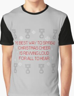 Christmas cheer with pistons Graphic T-Shirt