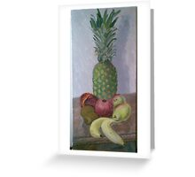 Pineapple and Friends Greeting Card