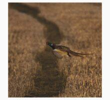 Pheasant in flight Kids Tee