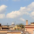 View on San Pietro al Vaticano, Roma by Ben Fatma Marc