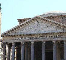 Pantheon, Roma by Ben Fatma Marc