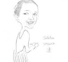 Caricature of A Young Girl by artpal
