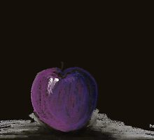 The lone plum by Picatso