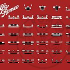 Alfa Romeo Family by AutomotiveArt