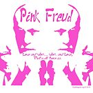 """Pink Freud """"P-ink Blot"""" by EyeMagined"""