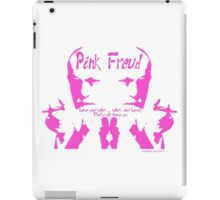 "Pink Freud ""P-ink Blot"" iPad Case/Skin"