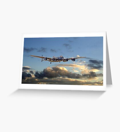 Lancaster - Dawn Light Greeting Card