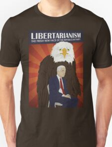 Libertarianism: The Fresh New Face of the Republican Party Unisex T-Shirt