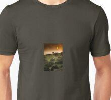 Full Moon Landscape at Sunset Unisex T-Shirt