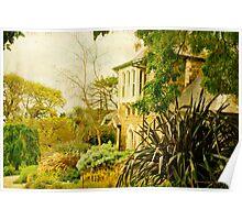 Heronswood Garden Poster