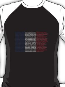 French flag La Marseillaise T-Shirt