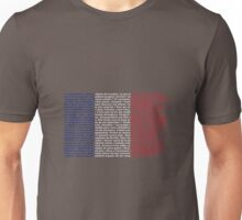 French flag La Marseillaise Unisex T-Shirt