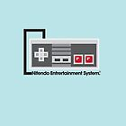 8-Bit NES Controller Poster by CowGoesMoo32