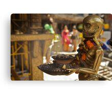 The sinister ashtray holder, Kathmandu  Canvas Print