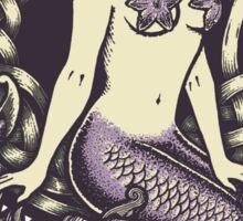 Mermaid and Skulls Sticker