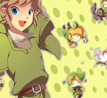 Legend of Zelda: Link time Sticker