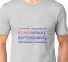 Australian anthem flag Unisex T-Shirt