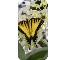 Miss Butterfly Yellow iPhone Case/Skin