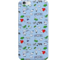 Unicorn and Friends Awesome Pattern iPhone Case/Skin