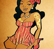 Tattoo Pin Up by mylittlenative