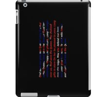 God Save The Queen - UK anthem iPad Case/Skin