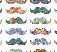 Mustache Mania Sticker