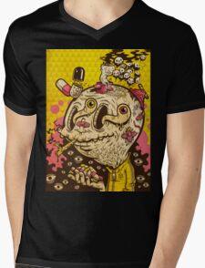 OLE CRACKY Mens V-Neck T-Shirt