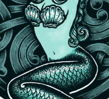 Mermaid and Skull 2 Sticker