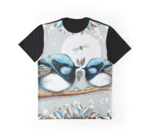 Blue Wrens Graphic T-Shirt