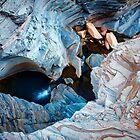 The Downward Spiral - Karijini National Park, Western Australia by Sean Farrow