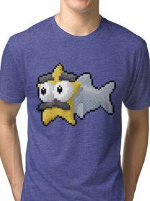 Starfishmanfish pixel tee Tri-blend T-Shirt