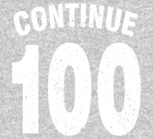 Team shirt - 100 Continue, white letters One Piece - Long Sleeve