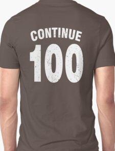Team shirt - 100 Continue, white letters T-Shirt