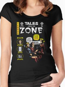 Tales from the Zone 2 Women's Fitted Scoop T-Shirt