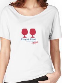 Troy & Abed in the morning NIGHTS... Women's Relaxed Fit T-Shirt
