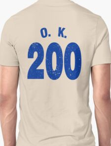 Team shirt - 200 O.K., blue letters T-Shirt