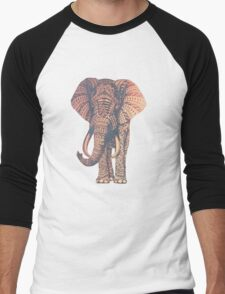 Fairy Elephant  Men's Baseball ¾ T-Shirt