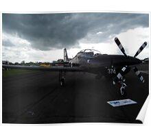 Pilatus PC-7 Poster