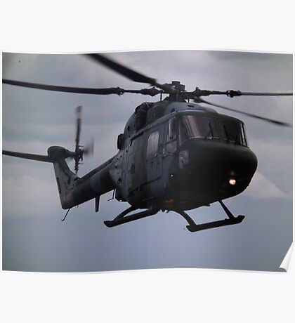 Westland Lynx(ZD278) Army Air Corp Poster