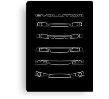 Mitsubishi Lancer - Evolution Canvas Print