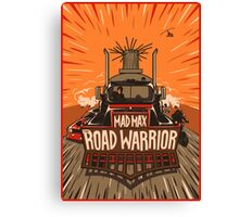 The Road Warrior Canvas Print