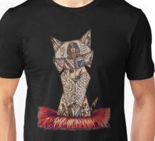 cat lover vintage origami Unisex T-Shirt